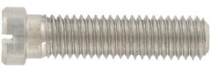 DIN 920 (Flachkopfschraube - Schlitz - kleinem Kopf)