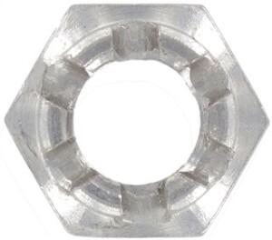 DIN 979 (Kronenmutter-niedrige Form)