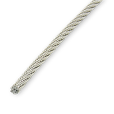 Article 8382: Wire rope for halyards 7X19 flexible