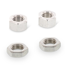 ISO 8673 + 8675: Tuercas hexagonales con rosca fina